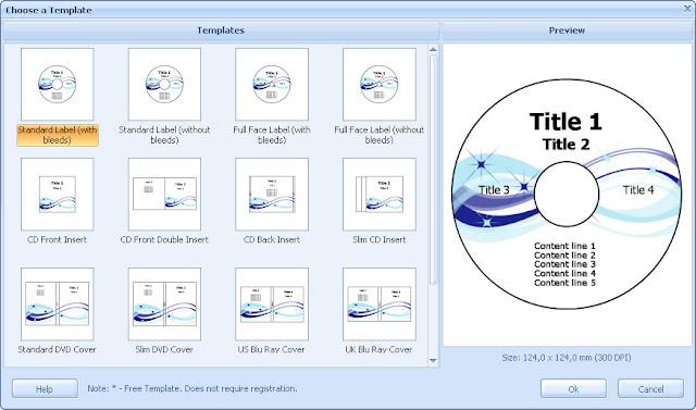 RonyaSoft CD DVD Label Maker de los mejores programas para el diseño ...