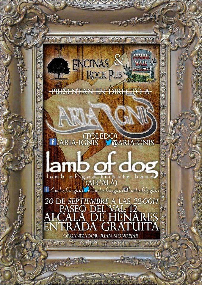 ARIA IGNIS & LAMB OF DOG