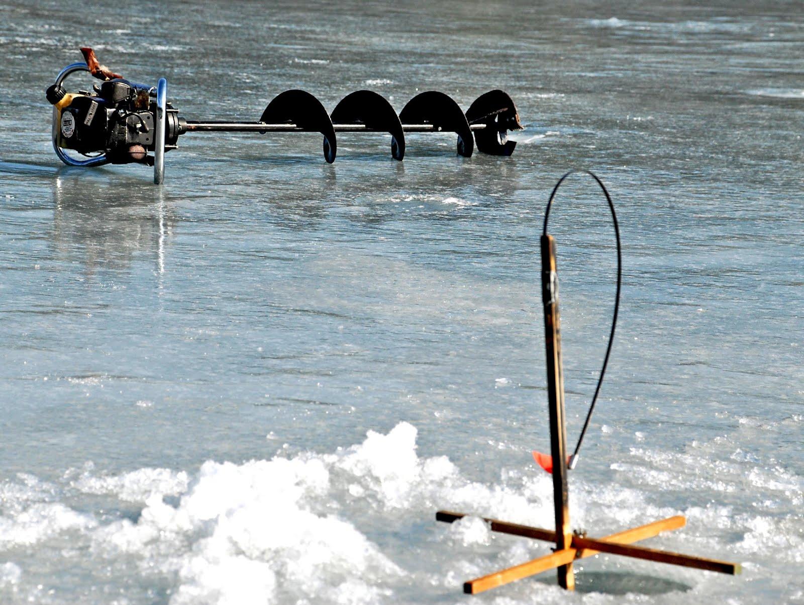 Guided Vermont Ice Fishing Trips Ice Fishing Anybody