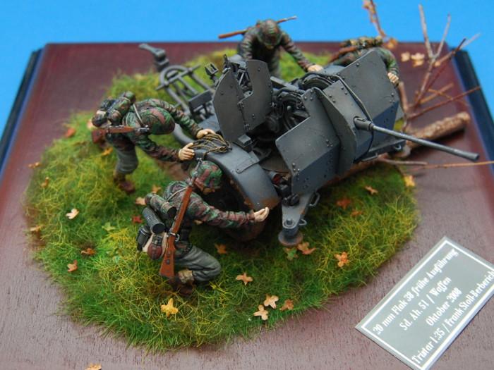 Flak 38 Sd.Ah. 51, Tristar 037, Besatzung, Diorama Bild 4
