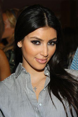 Bella sonrisa de Kim Kardashian