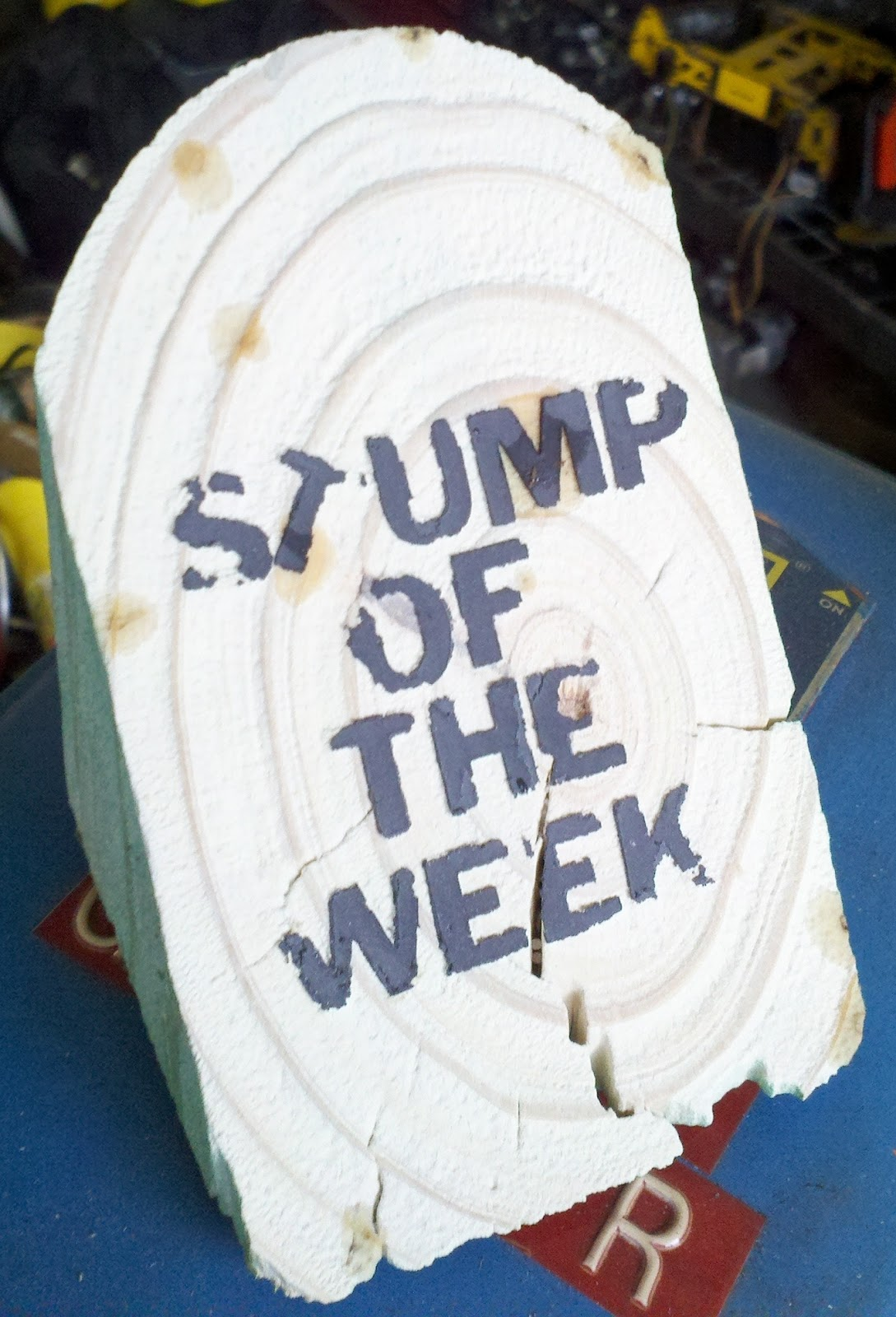STUMP OF THE WEEK
