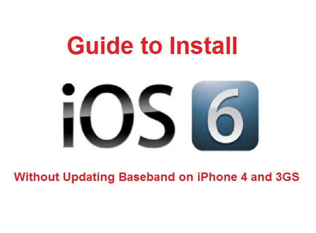 Cara Upgrade iOS 6 iPhone 4/3GS Preserve Baseband
