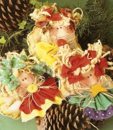 Como hacer adornos navide os con pi as - Como realizar adornos navidenos ...
