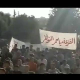 7 مقاطع لتغطية قافلة قبيلة مطير لنصرة الجيش الحر والشعب السوري