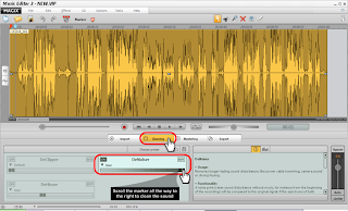 Sound Cleaning in Magix Music Editor