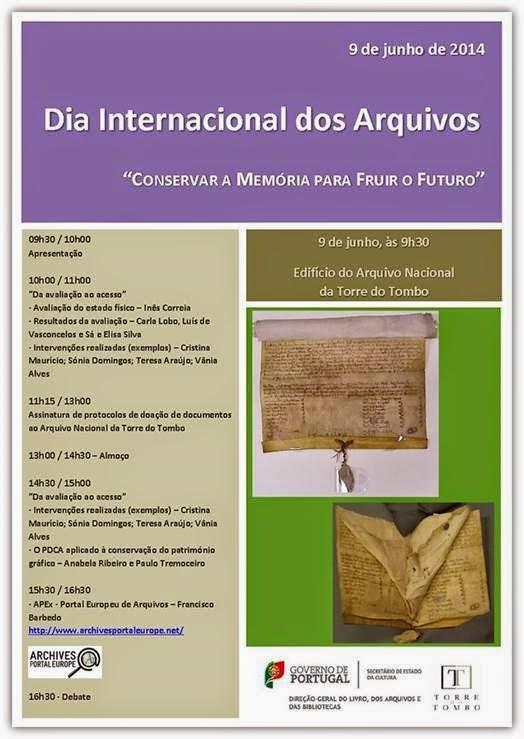 EM DESTAQUE | Dia Internacional dos Arquivos | 9 junho