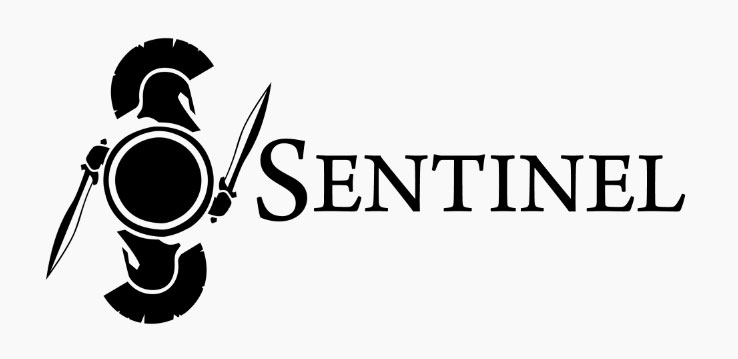 Parker's Compendium of Personal Improvements!: Sentinel Logo Comps