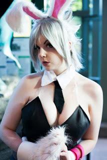 Sexy cosplay tetas
