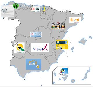 Distribuciones Linux Españolas