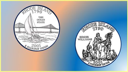 Finalistas Quarter Rhode Island