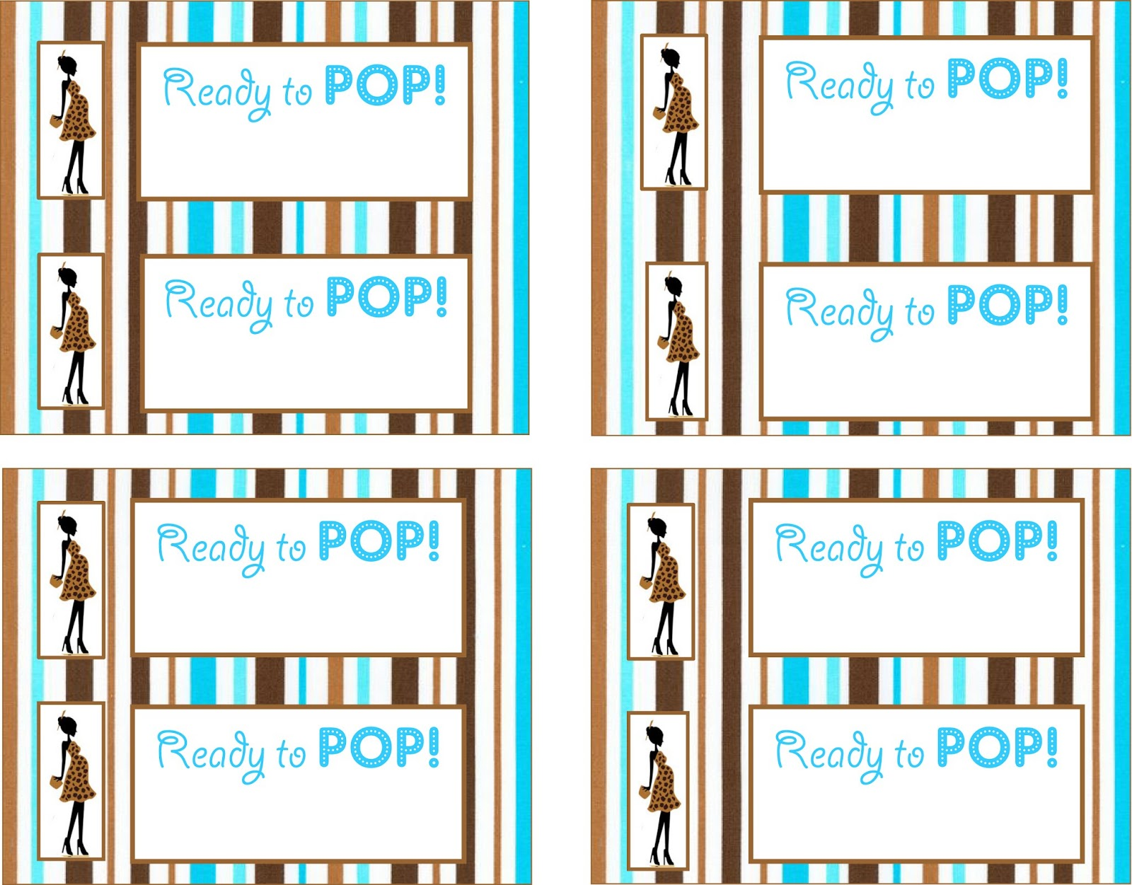 Kicking ass crafting ready to pop for Ready to pop labels template free