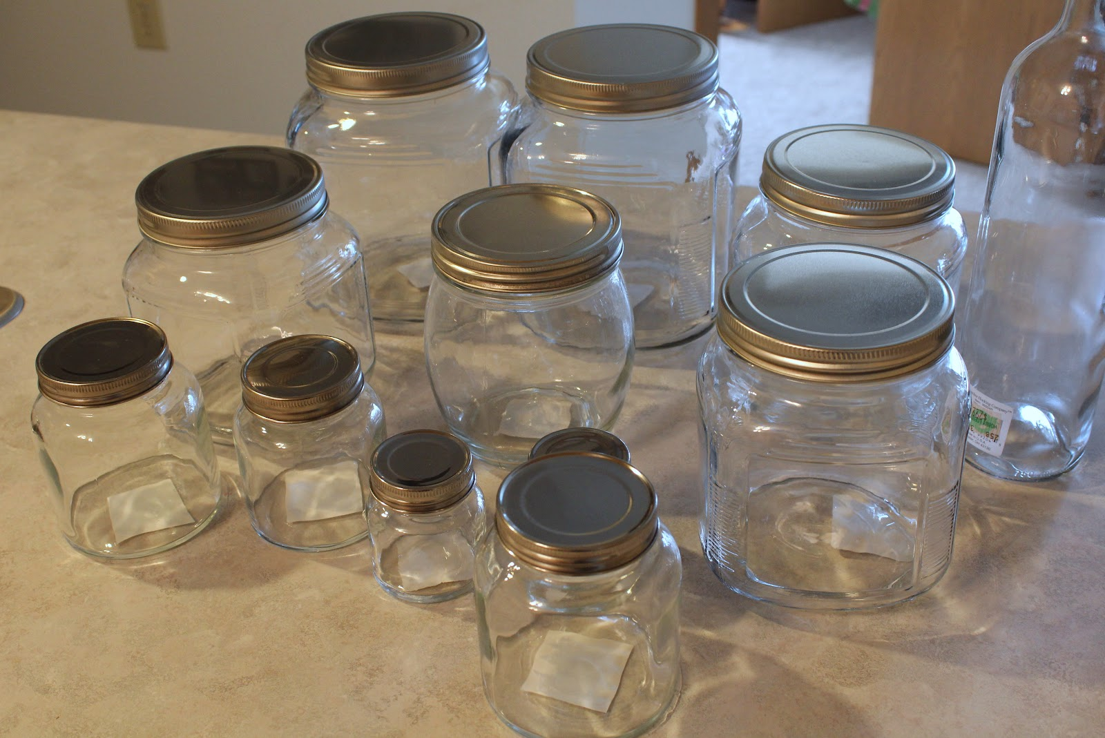 sprinkles of life diy kitchen canisters