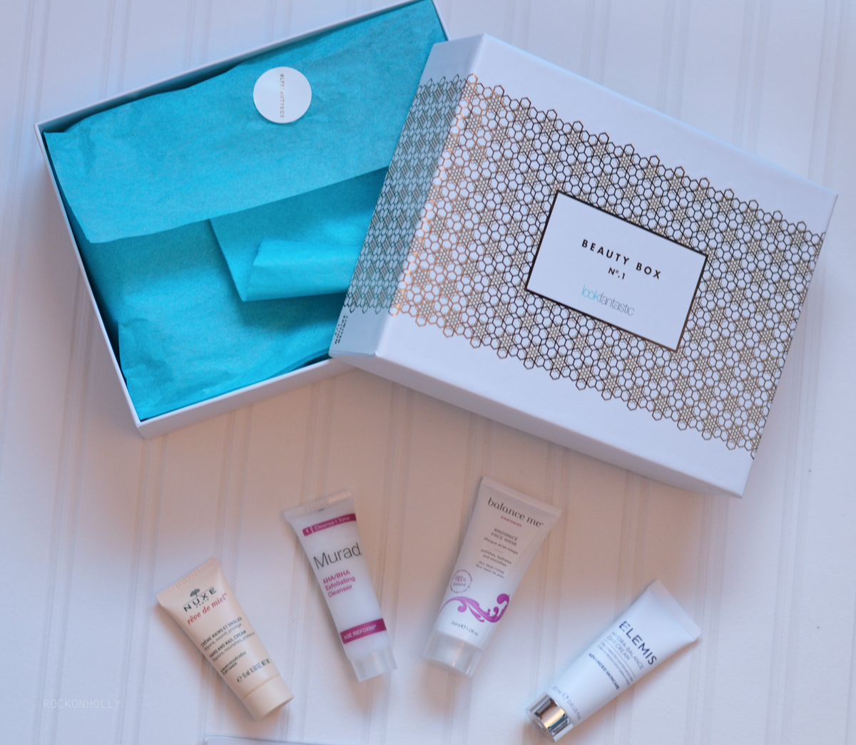 Look Fantastic Beauty Box Review and Giveaway on Rock On Holly