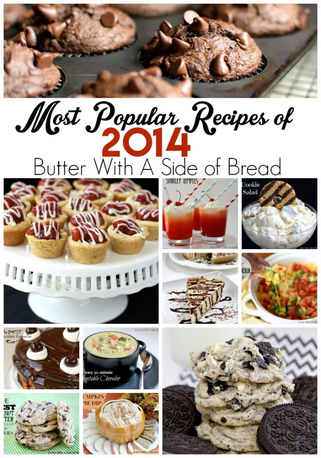 Most Popular Recipes of 2014- YUM!!