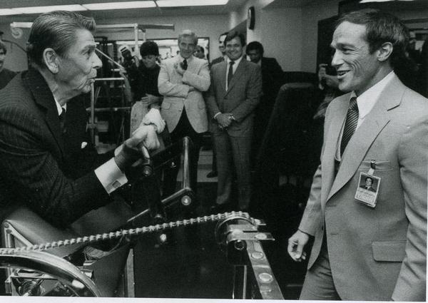 "SAIC Robert L ""Bobby D"" DeProspero, Reagan"