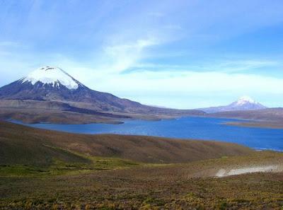 Mountain Nevado Sajama