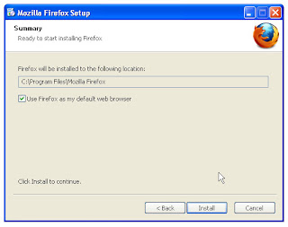 firefox default web browser