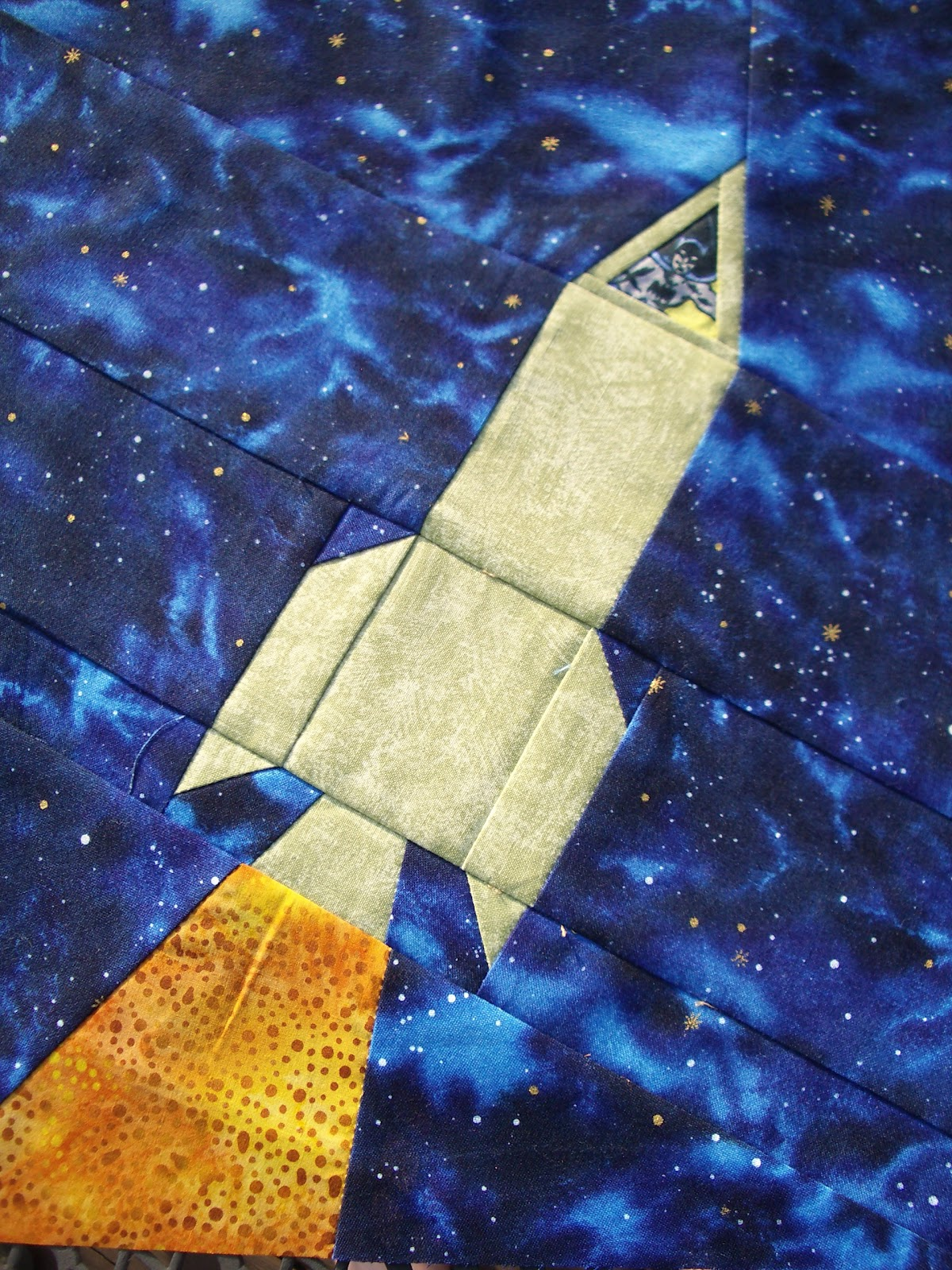 Handicrafty sisters outer space quilt for Outer space design