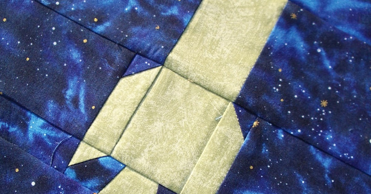 Handicrafty sisters outer space quilt for Outer space paper