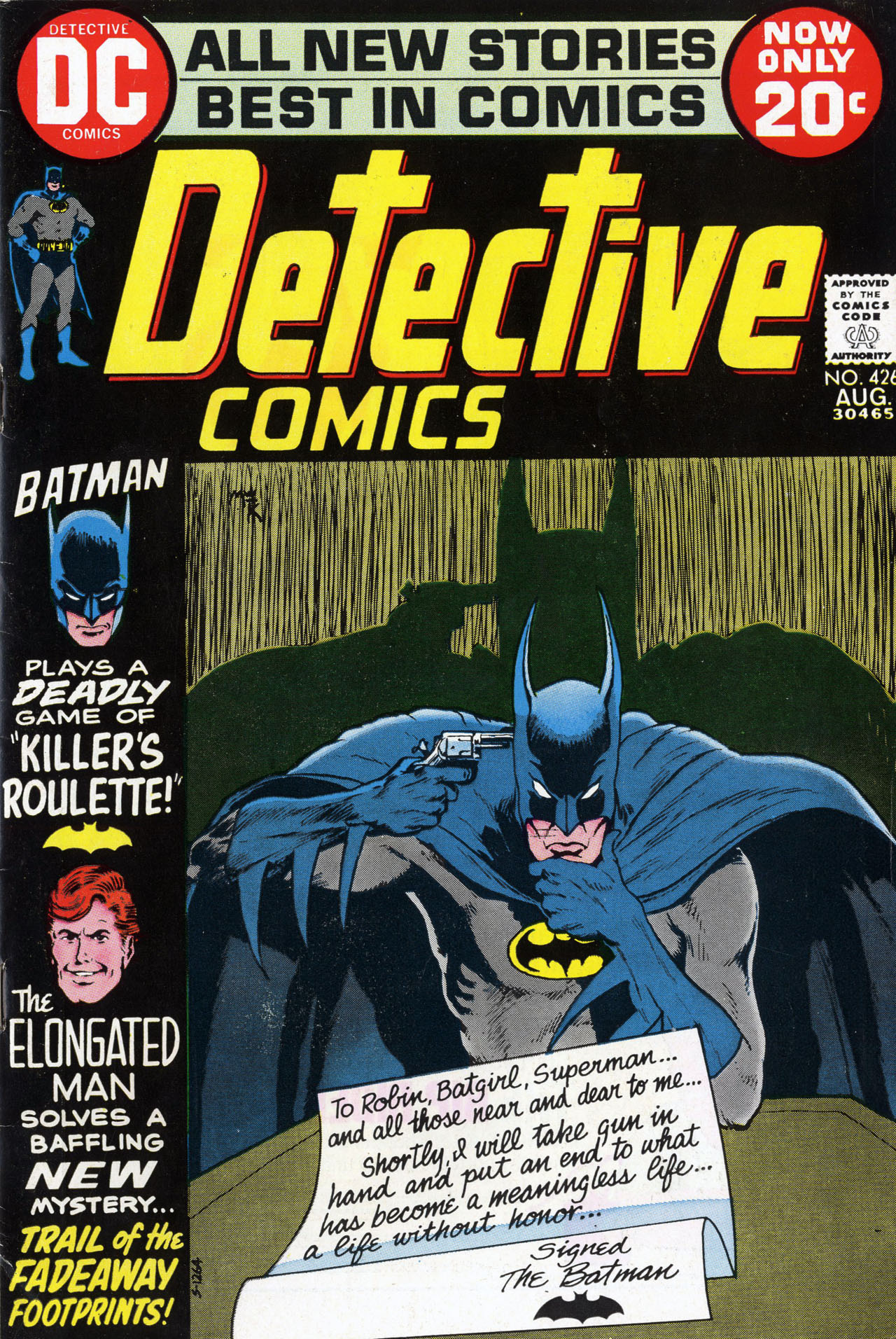 Detective Comics (1937) 426 Page 1