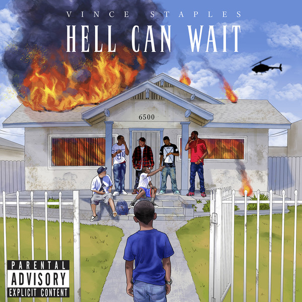 Vince Staples - Hell Can Wait Cover