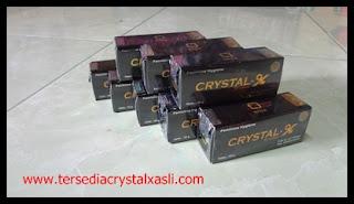 Crystal X asli PT. Natural Nusantara Bergaransi Resmi