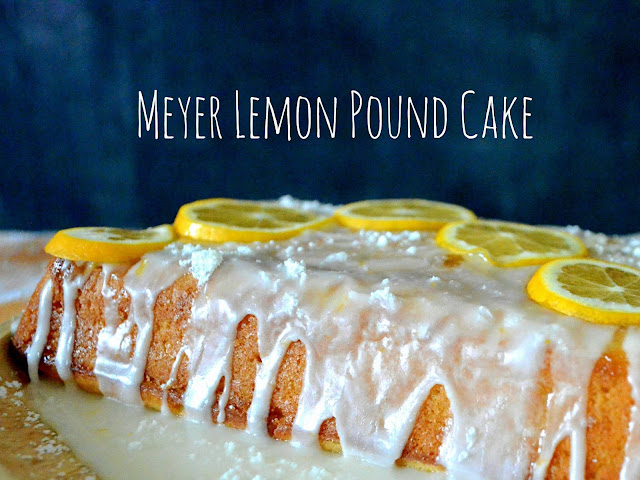 The Cyclist's Wife: Meyer Lemon Pound Cake