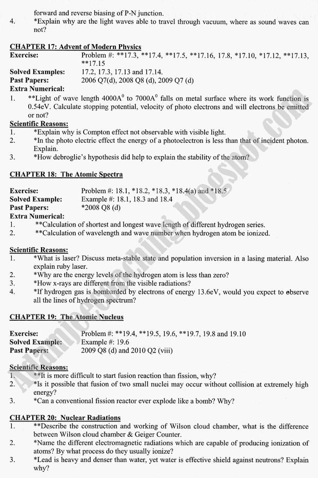 Adamjee Coaching Guess Papers 2015