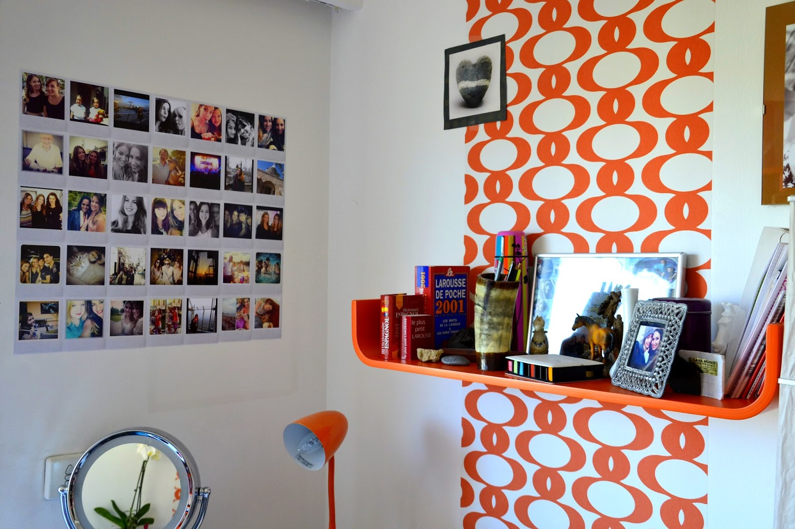 Comment j 39 ai cr mon mur instagram d co 1 a frenchie - Faire un mur de photos decoration ...