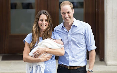 Prince William and Princess Catherine Name Their Son George