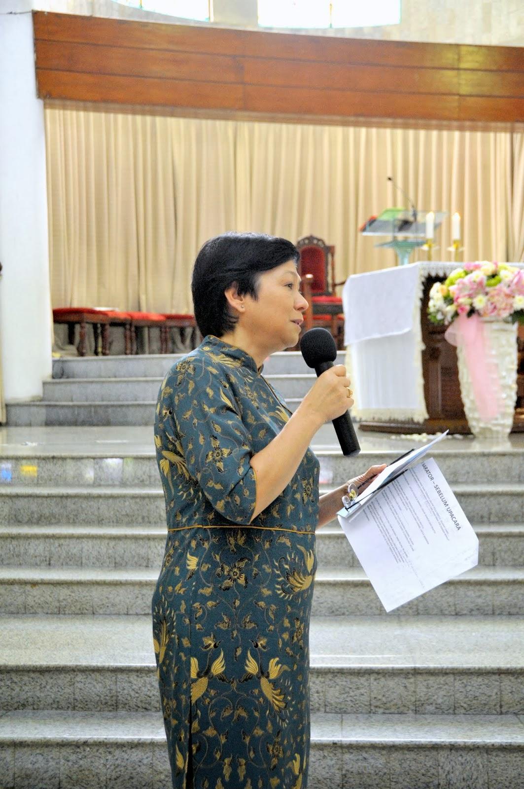 Acara Baptis Umum Bayi tanggal 02 Maret 2014 @ Maria Kusuma Karmel