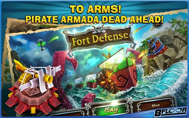 Fort Defense Saga: Pirates Gameplay IOS / Android