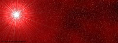 couverture facebook lumière rouge