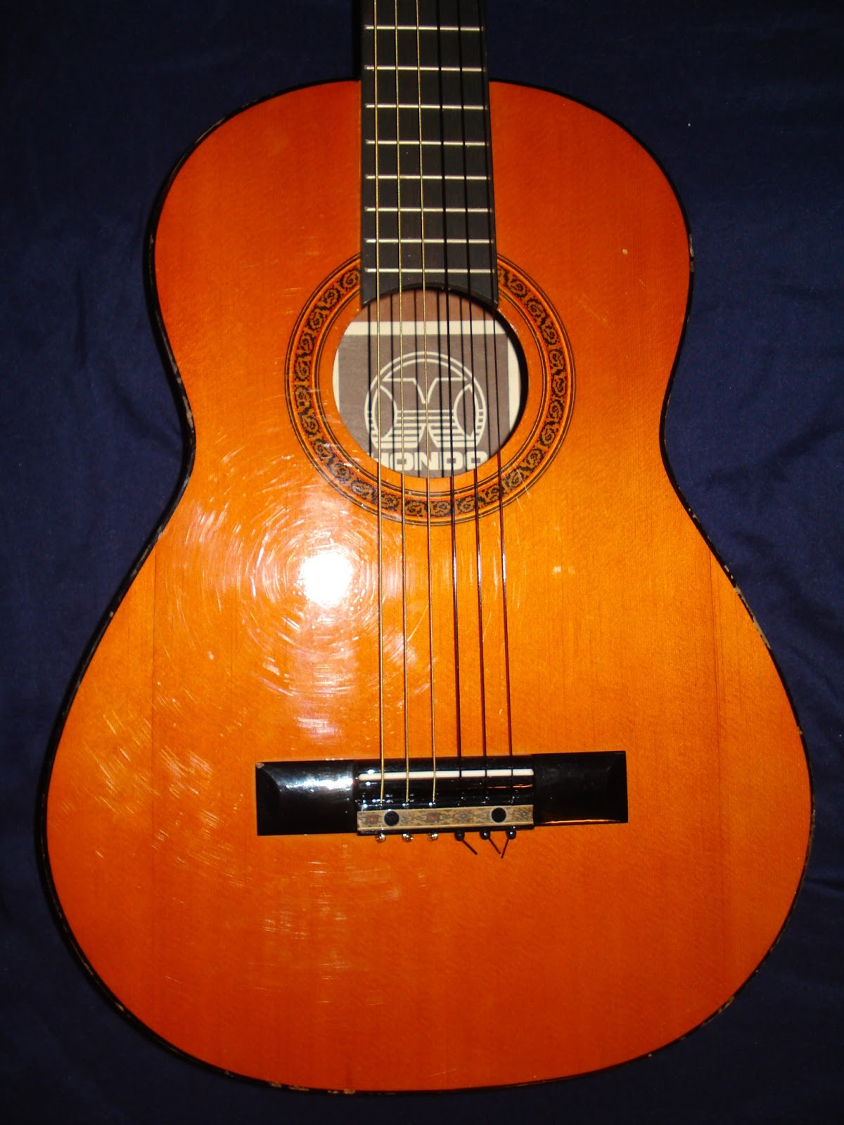 SoCal Gear Museum: 1980s Hondo H314 Student Classical Guitar