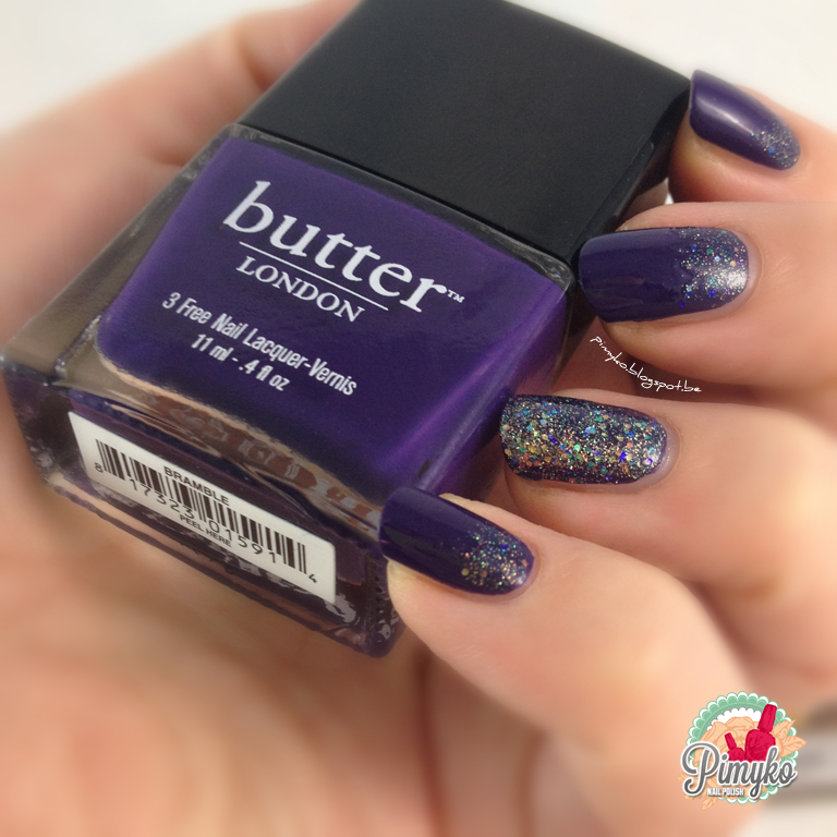"pimyko swatch ""Bramble"" & ""Tart with a heart"" by Butter London"