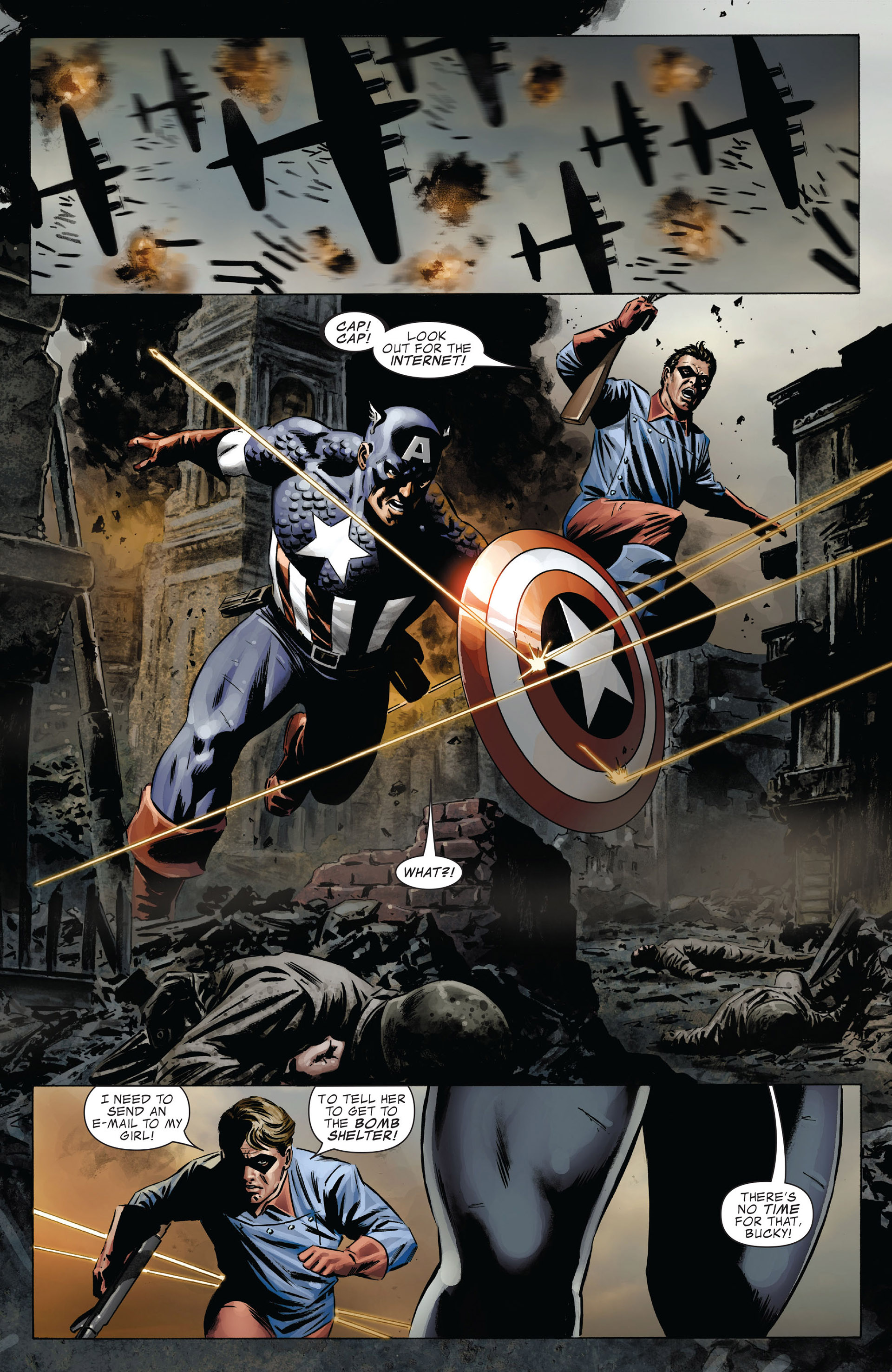 Captain America (2005) Issue #37 #37 - English 17