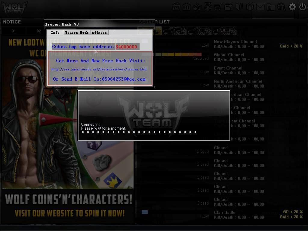 HACK DE WOLFTEAM !!! CASH INFINITO FUNCIONANDO - YouTube