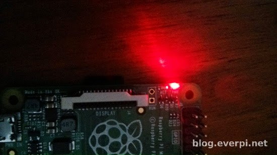 Leds no Raspberry Pi B+