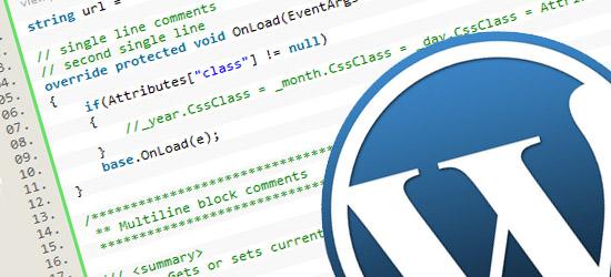 Display WordPress theme information with wp_get_theme()