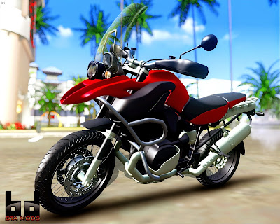 GTA SA - BMW R 1200GS 2008
