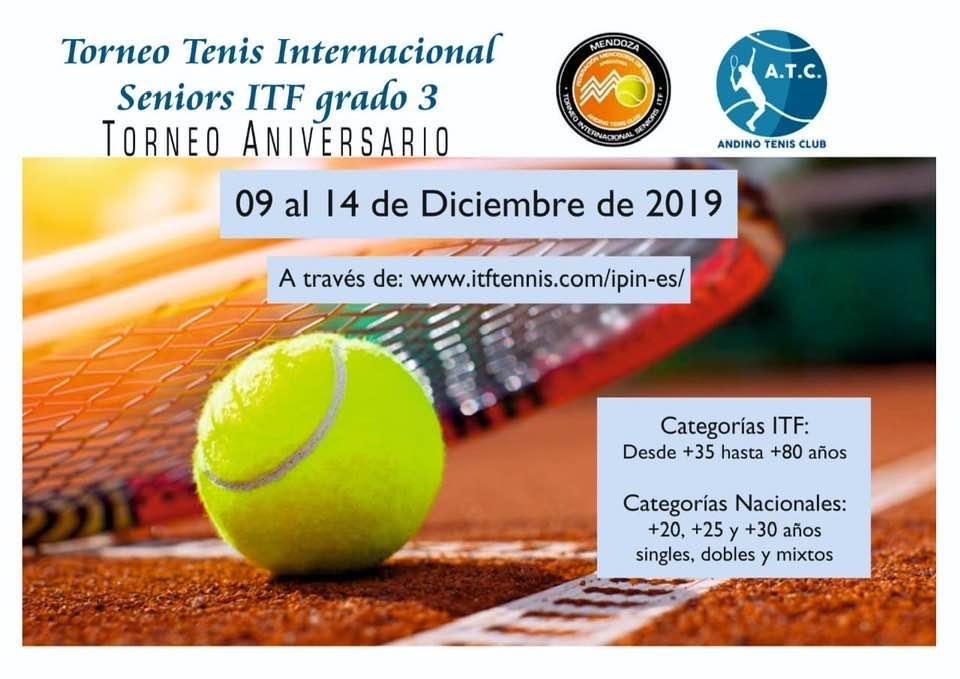 ITF SENIORS GRADO 3 - 9 al 14 de Diciembre