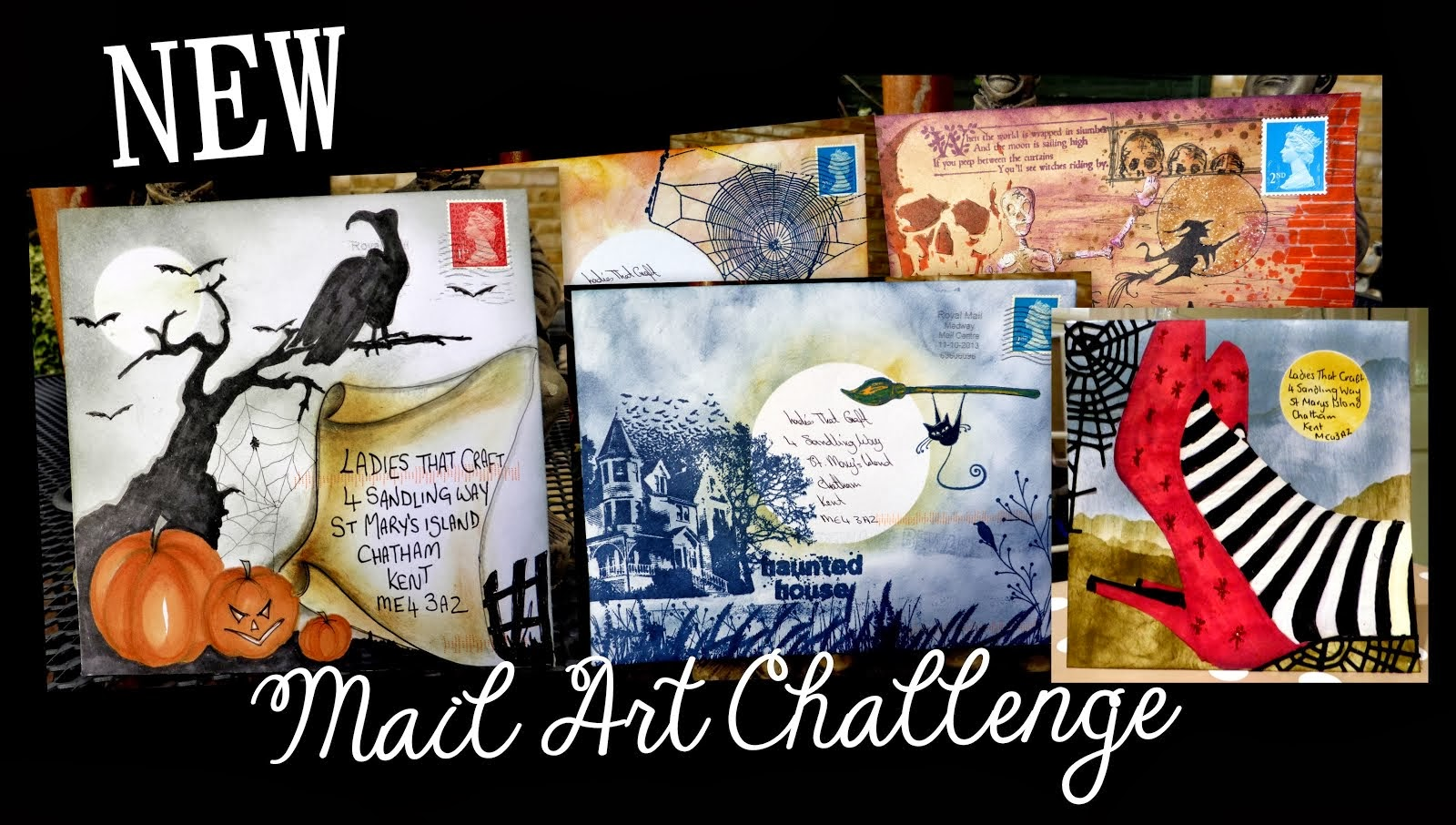 Mail Art CHallenge Blog