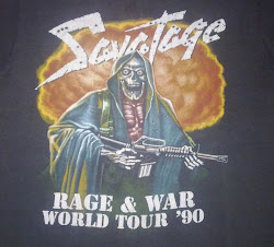 Savatage - Rage &amp; War World Tour 90