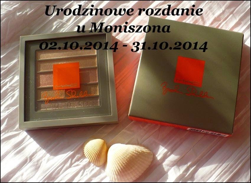 Cudowna paleta MAC na urodziny Moniszona :) 31.10