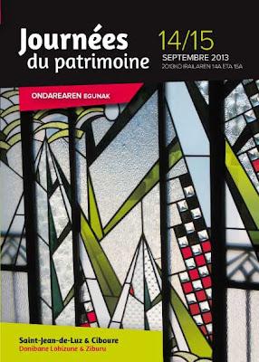 journées du patrimoine à Saint-Jean-de-Luz et ciboure
