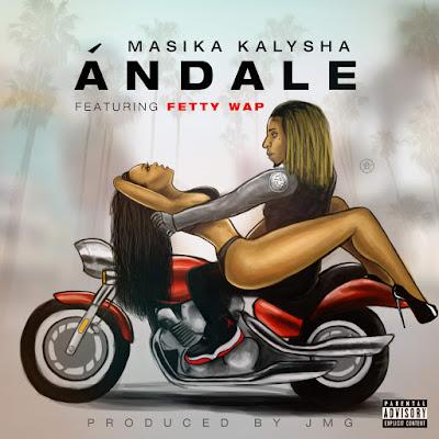 Masika Kalysha - Ándale (feat. Fetty Wap) - Single  Cover