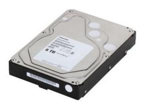 Toshiba Hadirkan Hardisk 5 TB