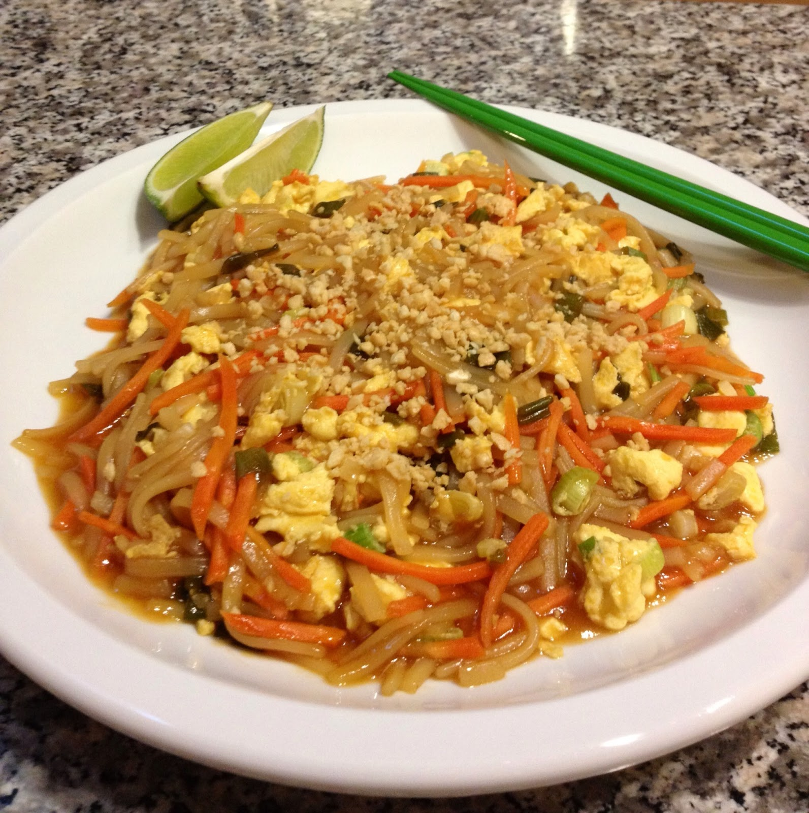 Our Weigh of Life: RECIPE: Vegetable Pad Thai (10 points+)
