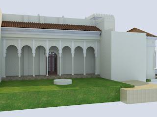 desain rumah mediterania spanyol moor vano architect